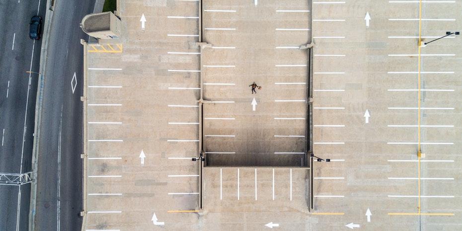 Car park - Metaphor: Phd programs in Germany