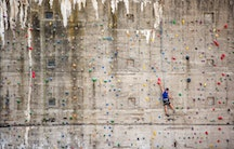 Climbing wall - Metaphor: Prepare for a phd Germany