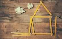 House folding ruler metaphor architect salary Germany