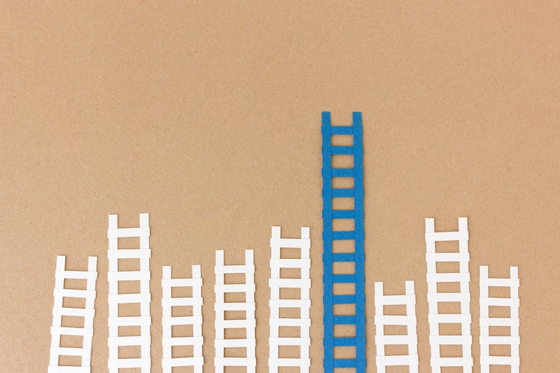 Ladder paper - Metaphor: Postdoc fellowship funding grants Germany