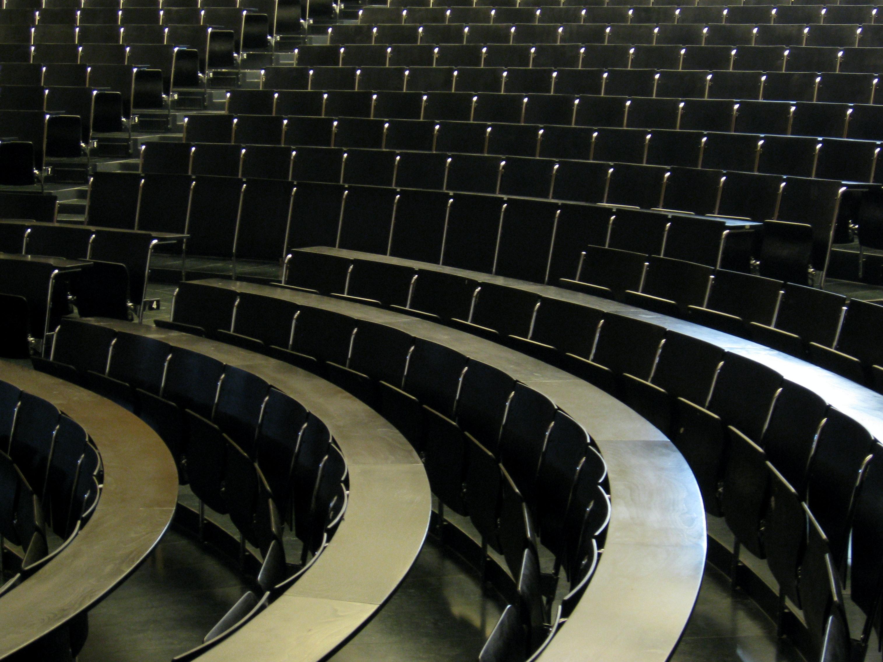 Lecture hall metaphor higher education Switzerland