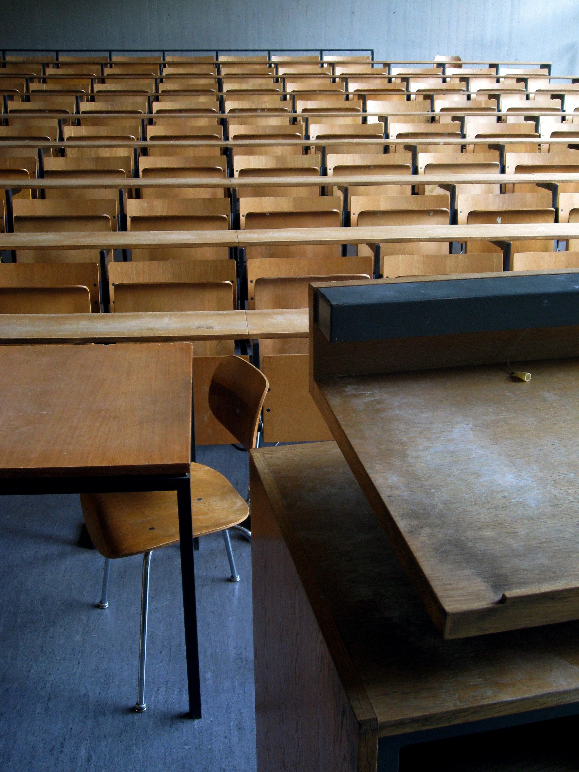 Lecture hall metaphor professorship Austria