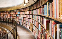 Library - metaphor: Higher education in Germany
