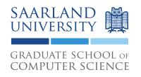 Saarland University - Graduate School of Computer Science (GSCS) - Logo
