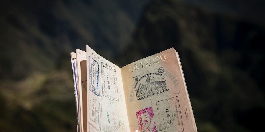 Passport visa Austria