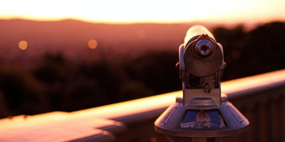 Telescope - Metaphor: Unemployed PhD