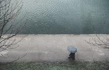 Umbrella protection - Metaphor: Health-insurance Germany
