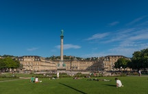 Neues Schloss Stuttgart - Working in Stuttgart