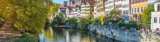 Working in Tuebingen